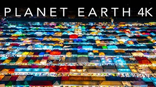 4K PLANET EARTH- A Timelapse & Hyperlapse Film Across The World
