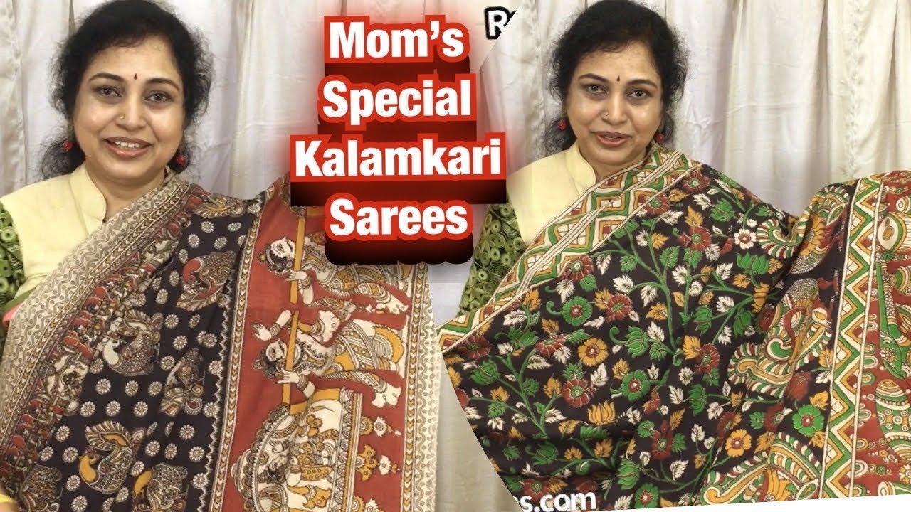 Mom's special Kalamkari sarees,Surekha Selections,Vijayawada,March 3, 2021