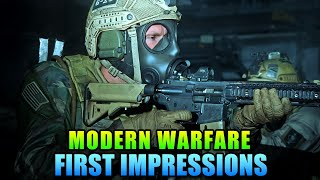 Modern Warfare Multiplayer First Impressions - A New Era For COD?