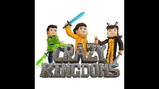NEW! Minecraft Server! play.crazykingdoms.net Play With Your Favorite YouTubers! -Voice Coming Soon