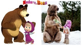 Masha and The Bear Characters in Real Life