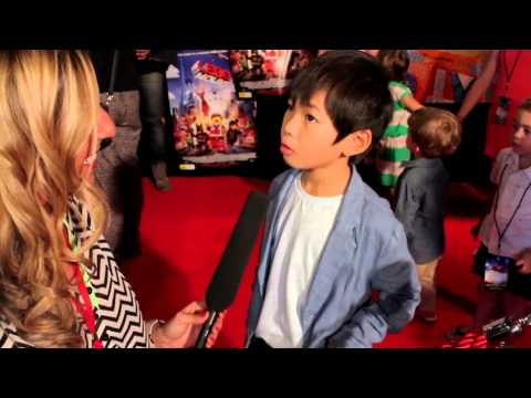 The Lego Movie Red Carpet Premier with Candy Hertz