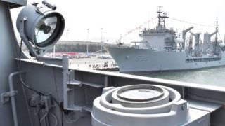 海軍104年敦睦遠航訓練支隊國內航訓開放參觀