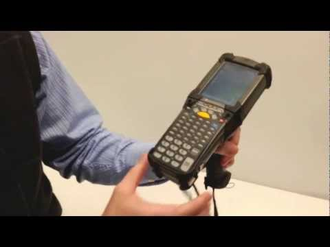How to Cold Boot Motorola MC9000 Series - YouTube