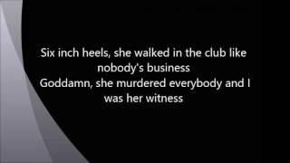 beyonce - 6 inch (lyrics)