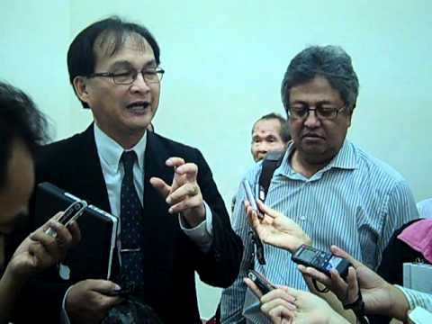 Baru Bian on latest NCR case and surveying  - 14-09-2010