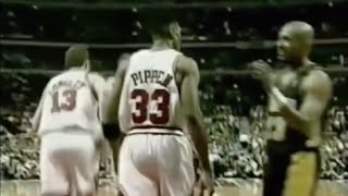 Scottie Pippen shuts down Mark Jackson - 1998 ECF Game 1