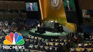 Watch Live: U.N. General Assembly 2019 | NBC News