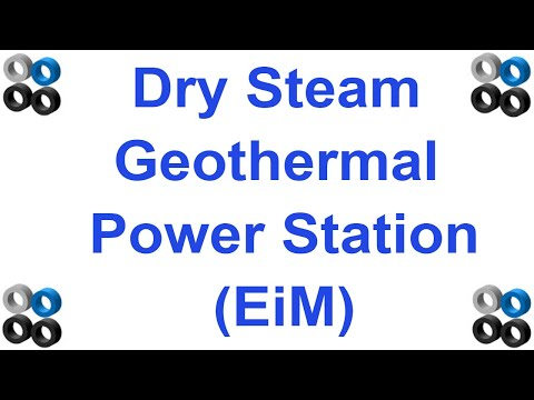How Dry Steam Geothermal Power Station Works (EiM series)
