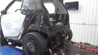 Tuning Smart Car Busa swap with turbo