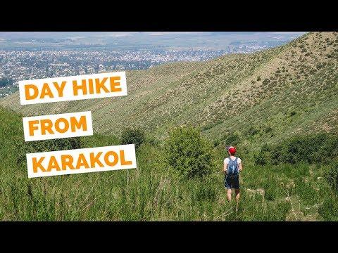 Day Hike in Karakol, Kyrgyzstan travel vlog