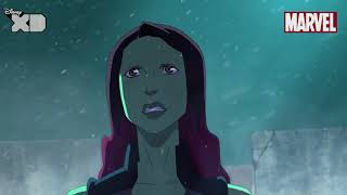 Guardians of The Galaxy | Gamora Part 1 | Official Disney XD UK