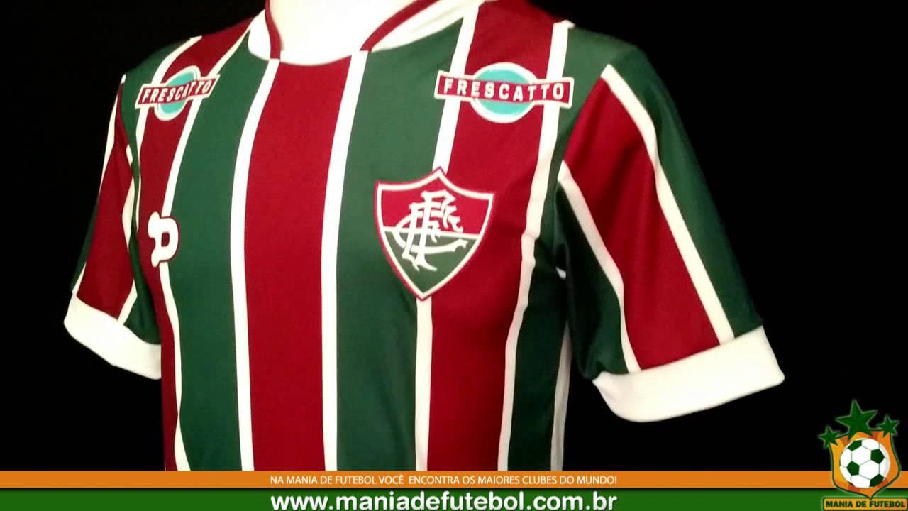 fabd8c9c526c5 Camisa Jogo 01 Fluminense 2016 Player Dryworld - YouTube