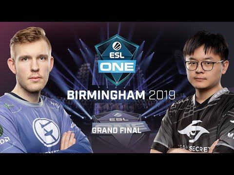 Evil Geniuses vs Team Secret - ESL One Birmingham - Game 1
