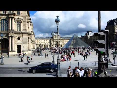A nice day in Paris / Hop On - Hop Off Bus Tour / 1080p