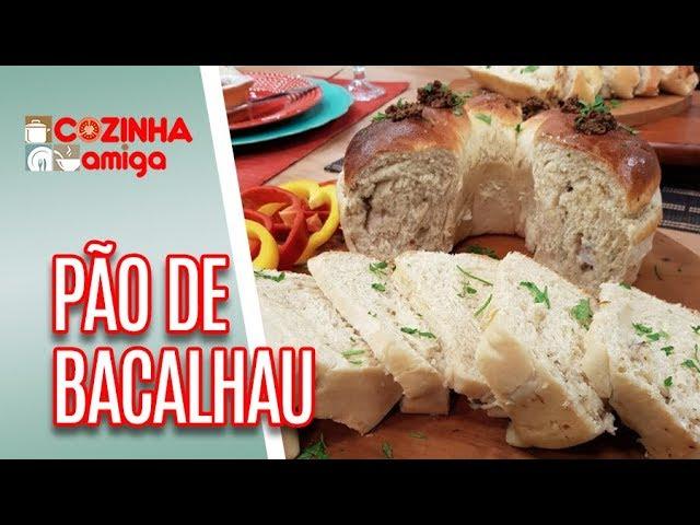 Pão de Bacalhau - Gabriel Barone  | Cozinha Amiga (21/12/18)