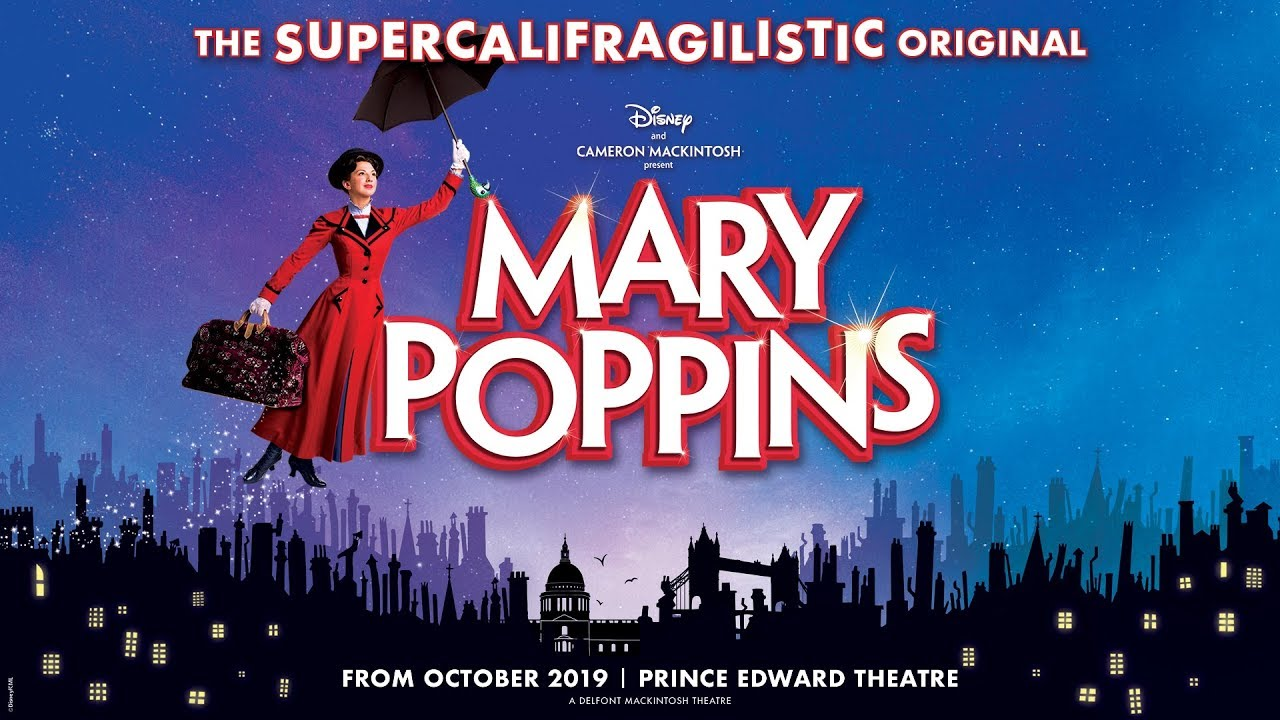 Image result for mary poppins musical