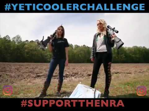 NRA supporters are blowing up Yeti coolers. Yeti says it's all a big mistake.