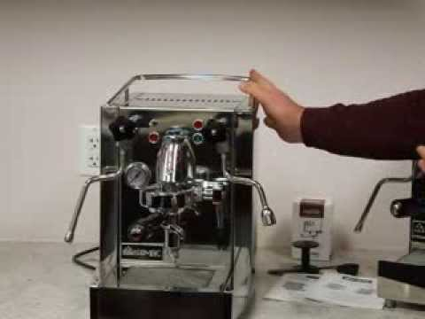 how to use isomac coffee machine