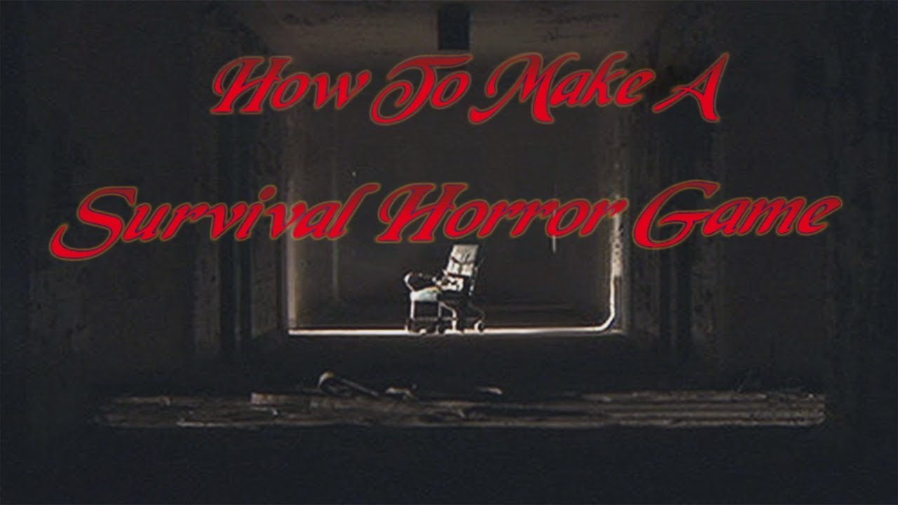 How To Make A Survival Horror Game In Unity Tutorial