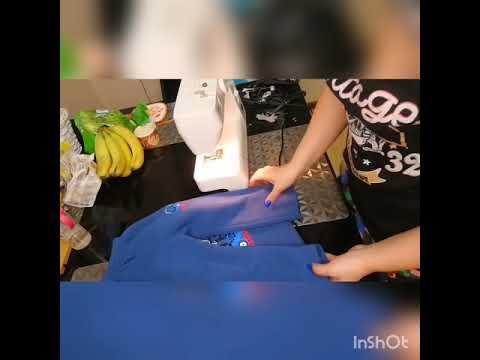 Как ушить клеш в штанах