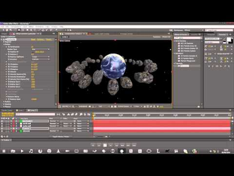 [After effects Tutorial] How to manipulate 3D objects in Element 3D