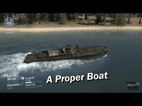 Spintires Mudrunner A Proper Boat with map
