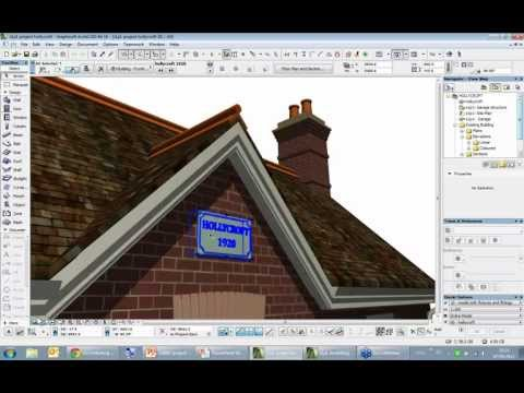 Project Hollycroft: Utilising BIM for Renovation1/5 - Modelling the Existing Building