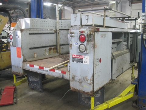 Dually Chassis Utility body for 60in CNC truck body 91 wide 1839 SOLD.
