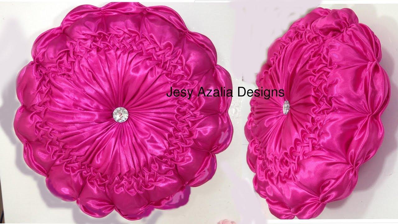Glamorous round flower cushion diy briefly explained in english glamorous round flower cushion diy briefly explained in english mightylinksfo