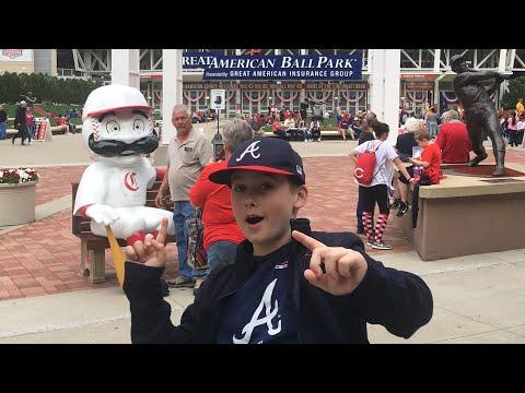 MLB Stadium Tour #2 - Great American Ball Park (Braves Vs Reds)