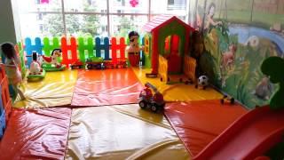 видео Зона детской площадки