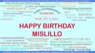 Mislillo   Languages Idiomas - Happy Birthday