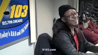 Bobby Brown Interview with The Real Show at V103 Chicago