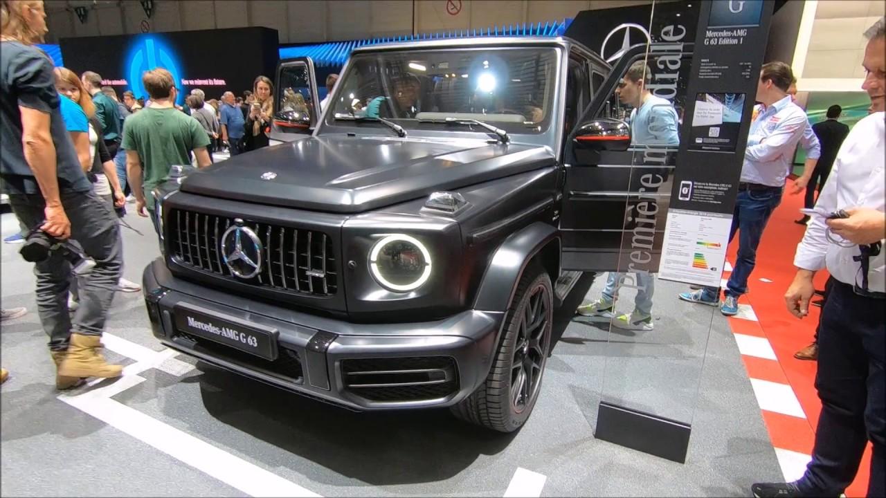 Mercedes Benz Amg G63 G Class W464 Matte Black New Model 2018 Walkaround Interior Youtube