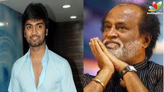 Atharvaa takes Dhanush's story. What did Rajini say? | Kanithan