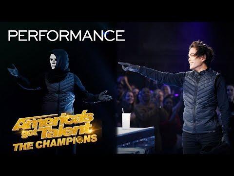 SHIN LIM Is Magician X?! Marc Spelmann Blows Minds With Magic! - America's Got Talent: The Champions