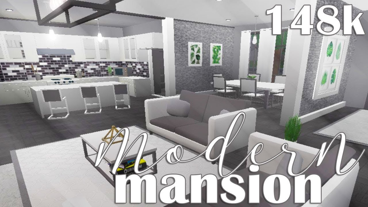 ROBLOX  Welcome to Bloxburg: Modern Mansion 8k