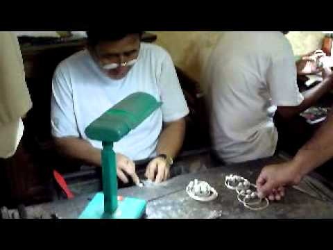 Cambodia. Silver Jewellery Making by Disabled People