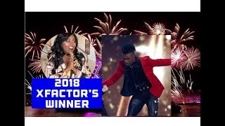 #daltonharris won 2018 #xfactor...I'm so excited!  Clips of his performances included #staceymojo