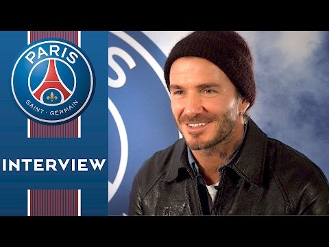 INTERVIEW EXCLUSIF DAVID BECKHAM : «PARIS SAINT-GERMAIN, UN CLUB TRÈS SPÉCIAL» FR & ENG
