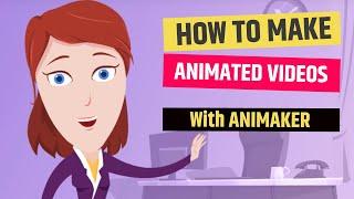 Animaker-Tutorial : erstellen Awesome videos, die mit Animaker