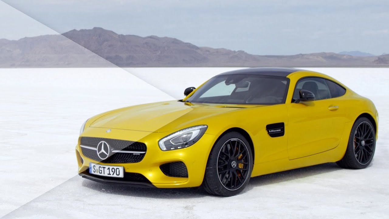 All-New 2015 Mercedes-AMG GT reveal promo - YouTube