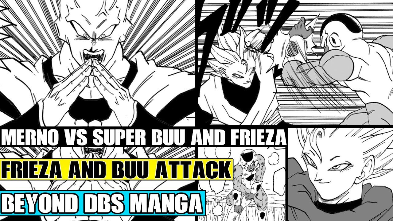 Beyond Dragon Ball Super: The New Angel Merno Vs Golden Frieza And Super Buu! Mernos Warns Vegeta