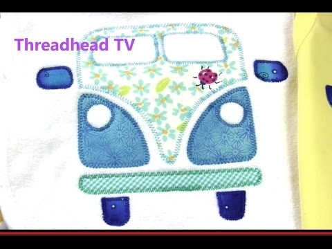 Hippie Campervan Applique T-shirt How To: 12 Easy Steps
