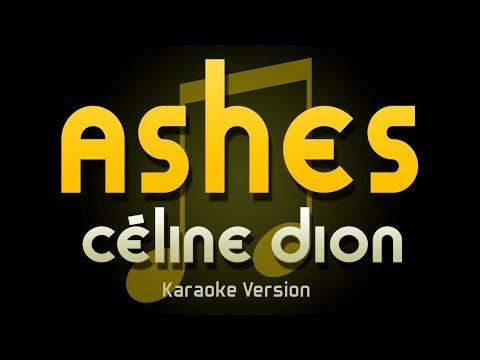 Céline Dion - Ashes (Karaoke)