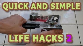 Quick and Simple Life Hacks - Part 2 thumbnail