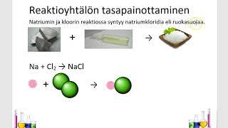 Kemia (7): Kappale 10: Kemiallinen reaktio