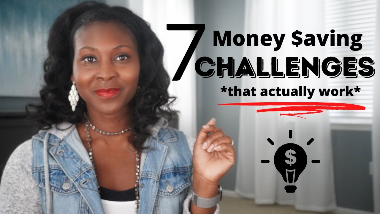 7 Money Saving Challenges That Actually Work⎟FRUGAL LIVING TIPS⎟How to Save Money