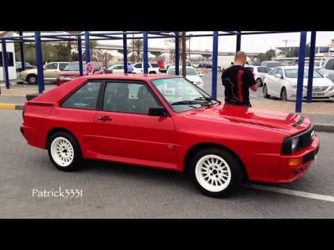 Audi Sport Quattro S1 spotted in Dubai